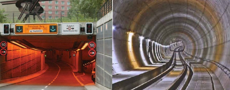Tiergarten Tunnel